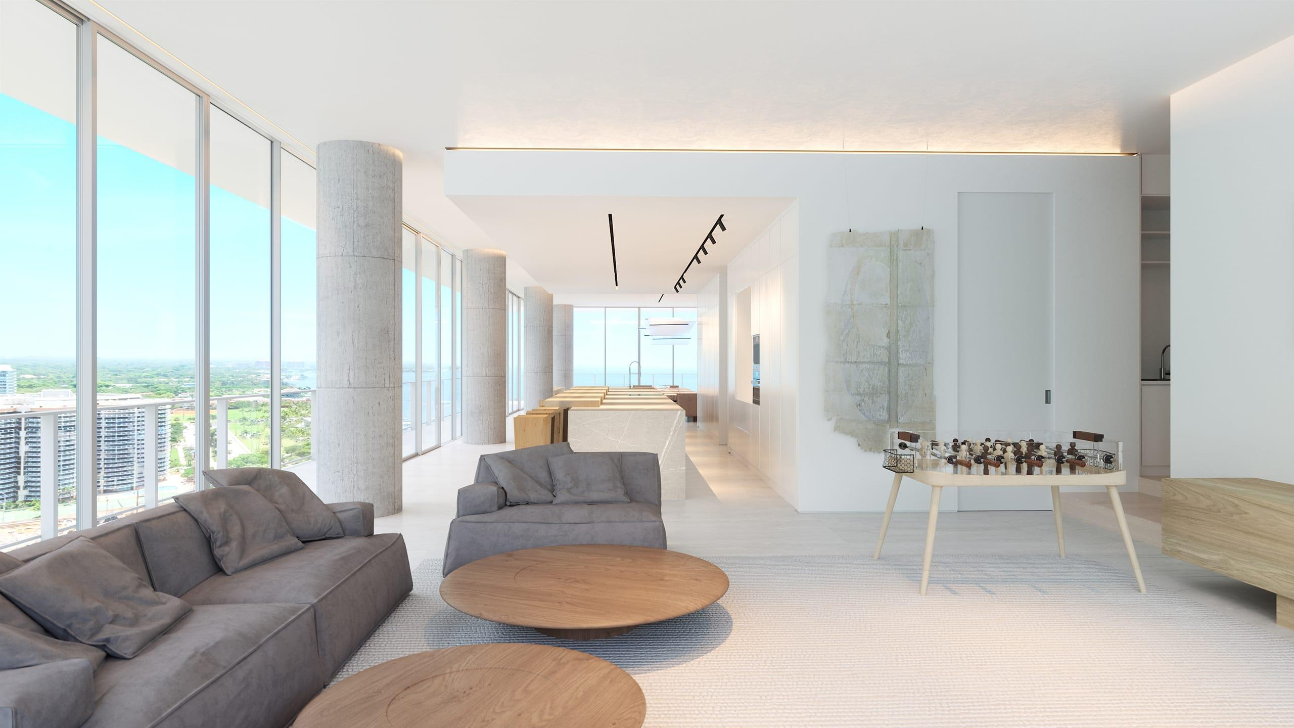 Grove at Grand Bay family room render_2k
