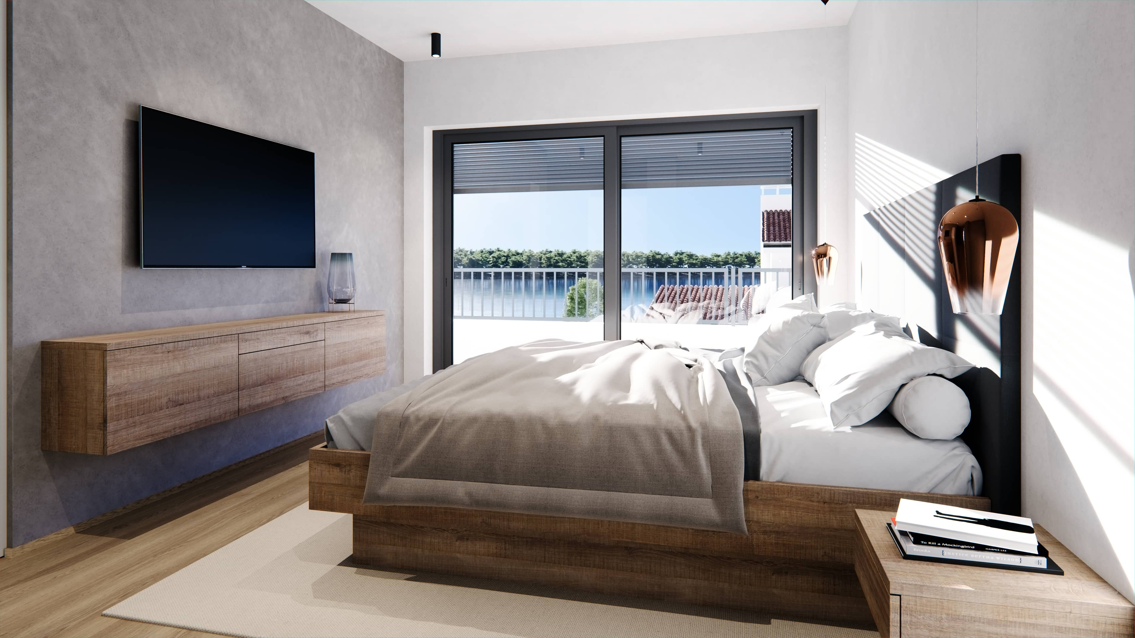 San Lorenzo bedroom render